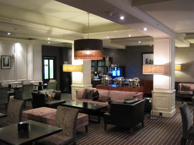 Executive Lounge im Waldorf Hilton London