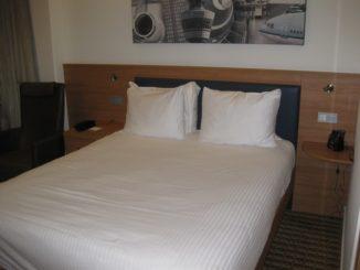 Standardzimmer im Hampton by Hilton Amsterdam Schiphol