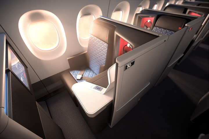 DL Business-Class (Airbus A350-900)