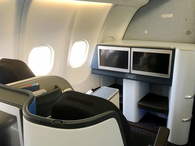 KL Business-Class Kabine (A330-300)