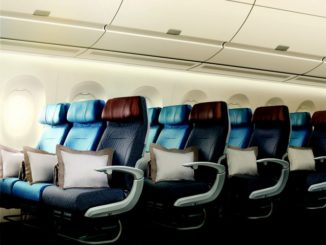 SQ Economy-Class (Airbus A350-900)