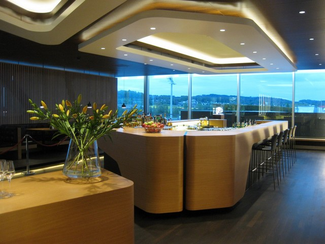 Swiss First Class Lounge Terminal E in Zurich