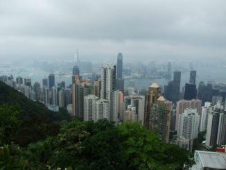 Hong Kong - Blick vom Peak