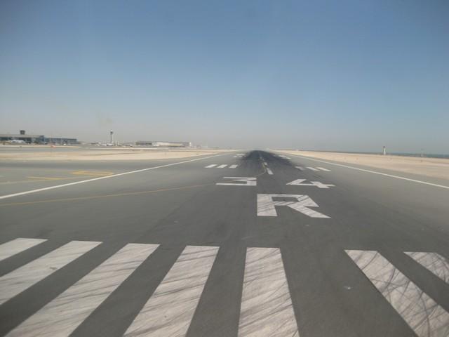 Startbahn in Doha