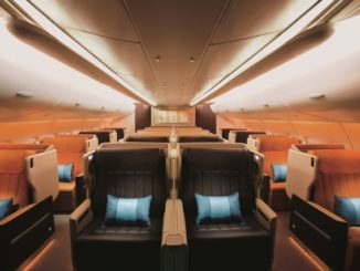 SQ Business -Class (Airbus A380-800)