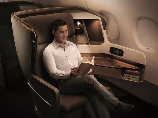 SQ Business-Class (Boeing 777-300ER)
