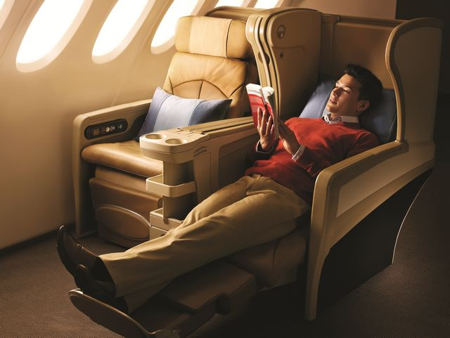 SQ Business-Class (Airbus A330-300)
