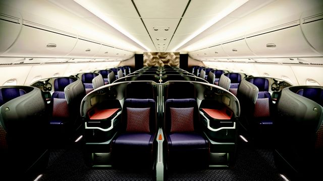 SQ Business-Class (Airbus A380-800)