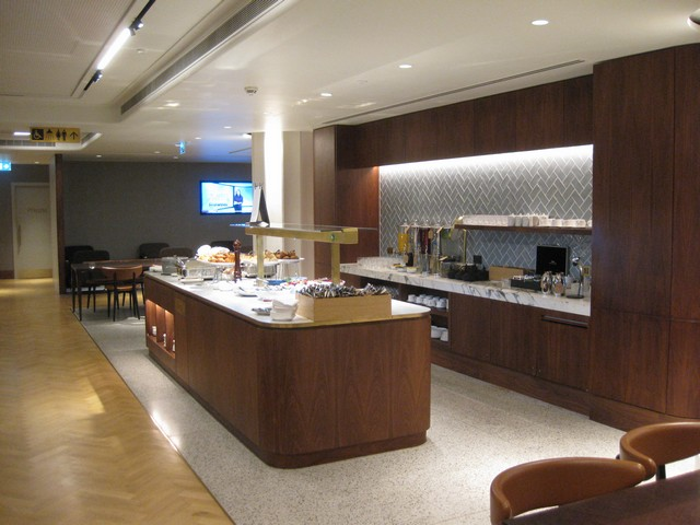 The Qantas London Lounge