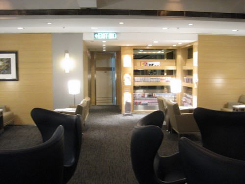 United First Class Lounge in Hong Kong