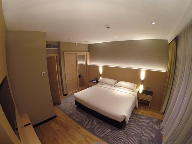 Schlafzimmer eine Suite im Renaissance Kuala Lumpur