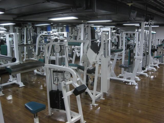 Fitnesscenter im Renaissance Kuala Lumpur