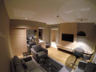 Wohnzimmer eine Suite im Renaissance Kuala Lumpur