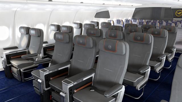 LH Premium-Economy-Class (Airbus A340-300)