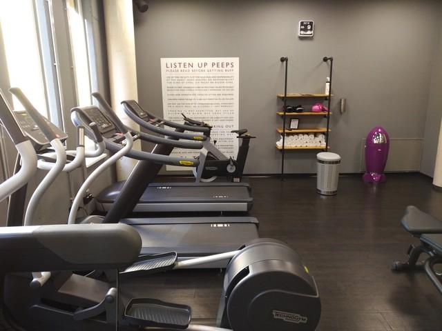 Fitnesscenter im im Moxy Frankfurt East