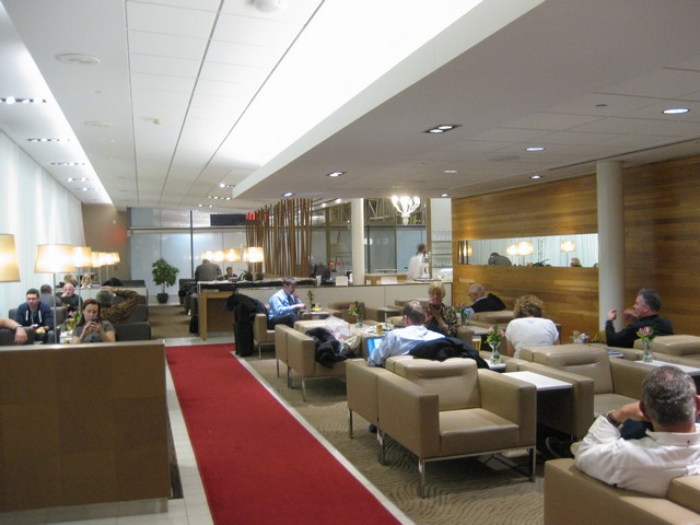 National Bank Lounge Montreal Trudeau Airport