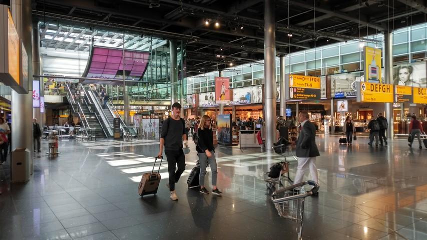 AMS Schengen Terminal / LH997 AMS-FRA