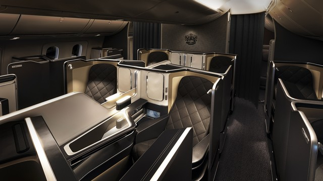 BA First-Class (Boeing 777-300ER)