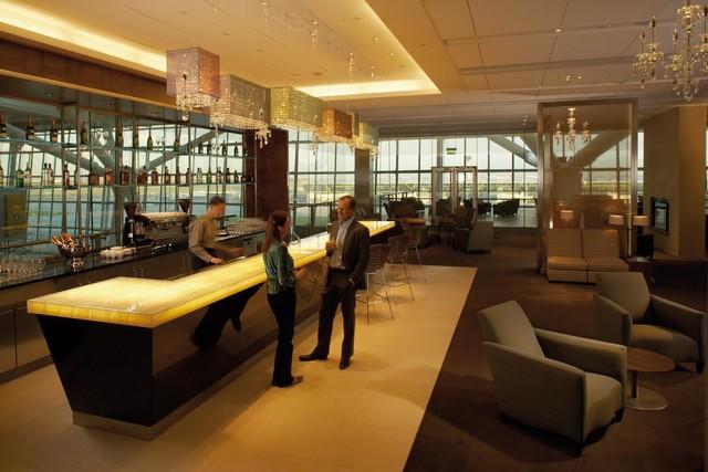 BA Concorde Room in London Heathrow Terminal 5