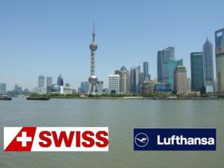 Lufthansa und Swiss Special China