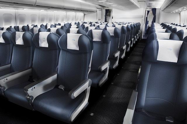 BA Economy-Class (Boeing 747-400)