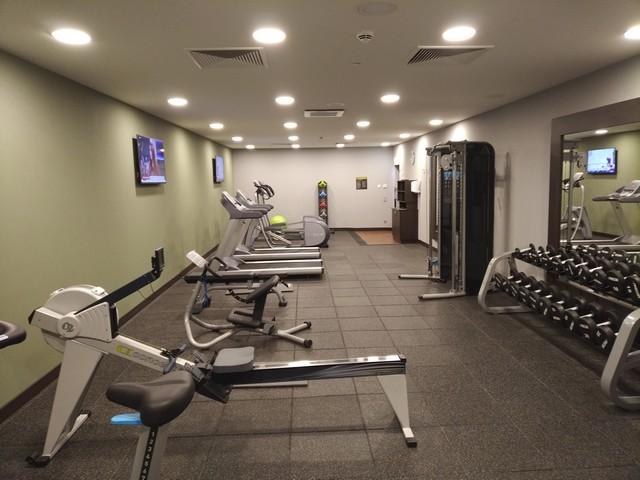 Fitnesscenter im Hilton Garden Inn Frankfurt City Centre