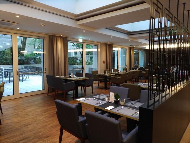 Restaurant im Hilton Garden Inn Frankfurt City Centre