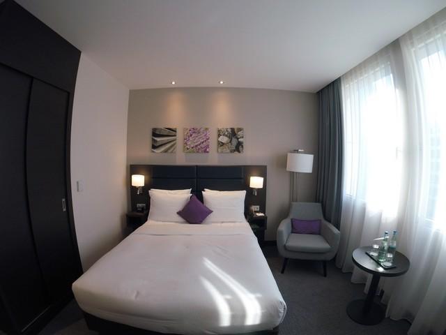 Standardzimmer im Hilton Garden Inn Frankfurt City Centre