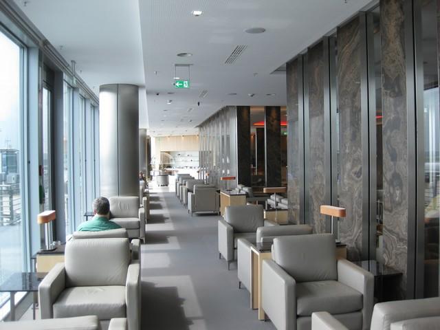 Air Canada Maple Leaf Lounge in Frankfurt