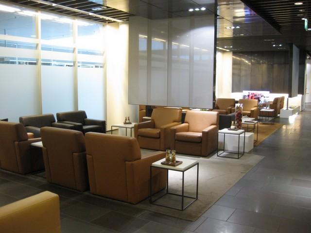 First Class Lounge der Lufthansa in München