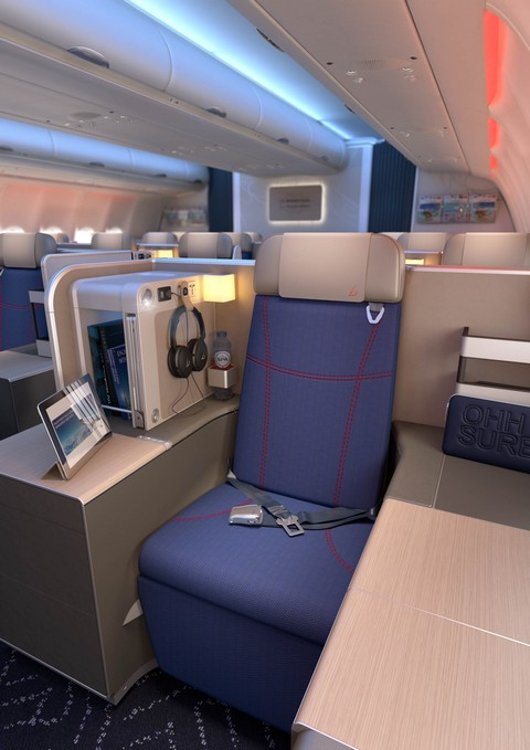 Neue Business-Class bei Brussels Airlines im Airbus A 330