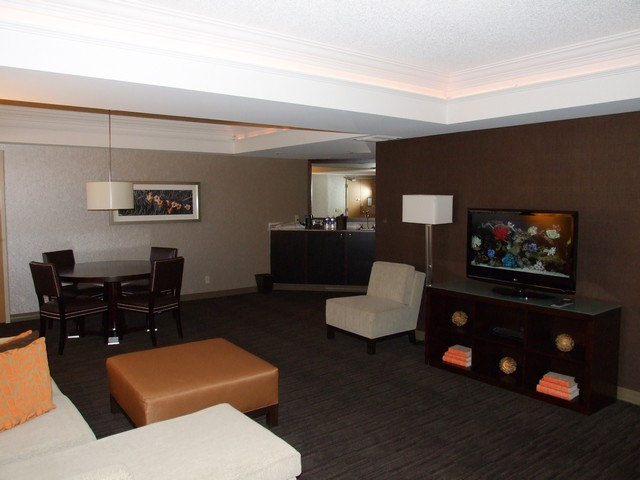 Wohnzimmer einer Executive Suite im Hyatt Regency Palm Springs