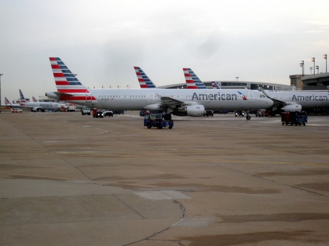 American Airlines Flugzeuge in Dallas Fort Worht (DFW)