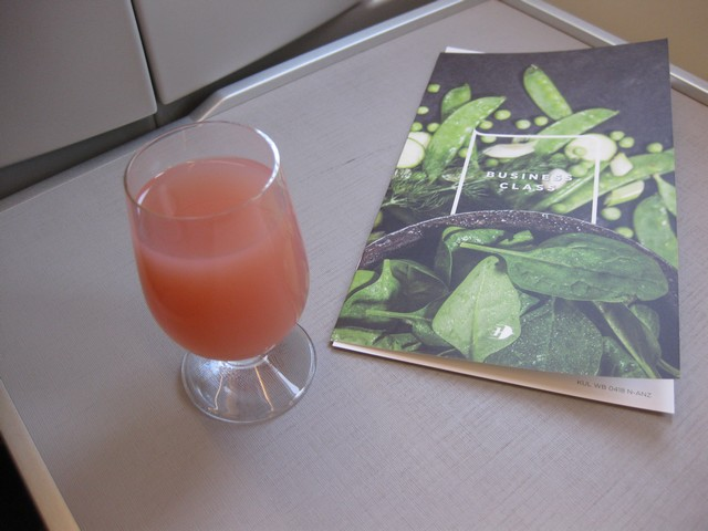 Pre-Departure Drink Business-Class / MH388 KUL-PVG
