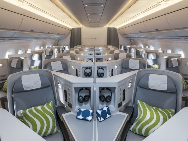 AY Business-Class (Airbus A350-900)