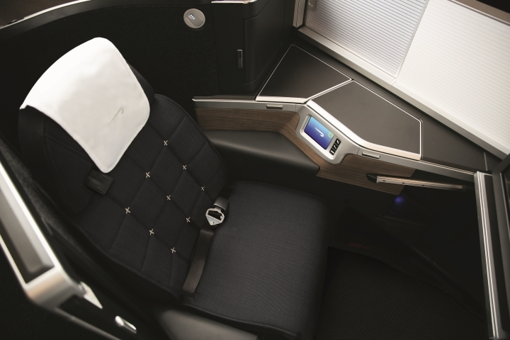 BA Business-Class (Airbus A350-1000)