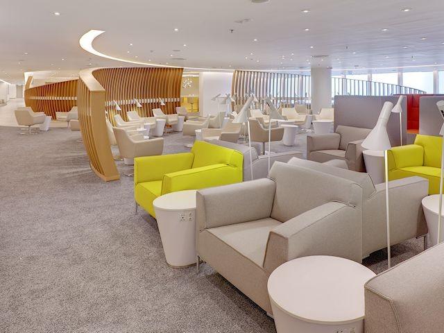 Skyteam Lounge Hong Kong