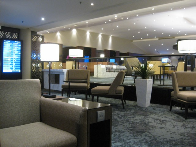 Malaysia Airlines Business Lounge / MH388 KUL-PVG