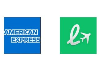 Logo American Express und Loungebuddy