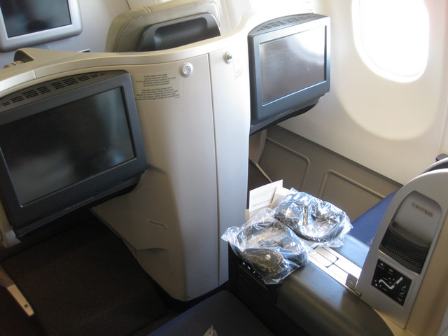 Business-Class Sitz / MH388 KUL-PVG