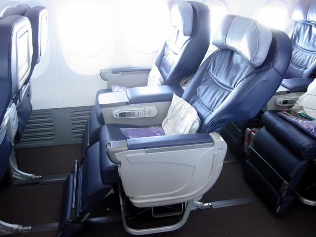 Business-Class Sitz / MH785 BKK-KUL