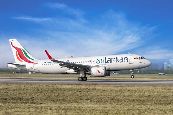 Sri Lankan Airbus A 320 Neo