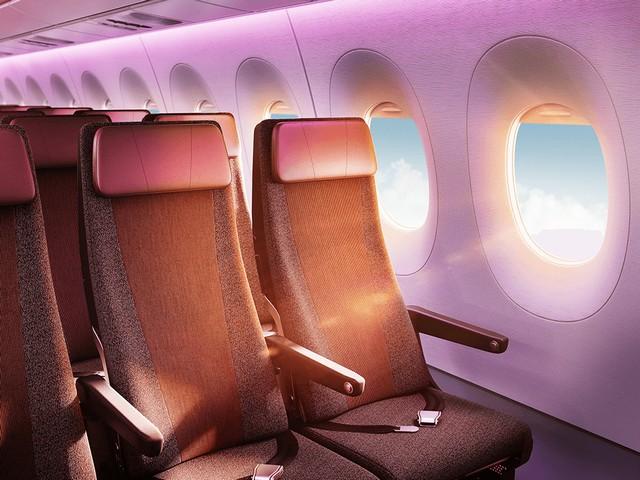 VS Economy-Class (Airbus A350-1000)