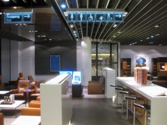 Lufthansa First Class Lounge Terminal A in Frankfurt