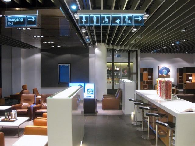 Lufthansa First Class Lounge Terminal A in Frankfurt