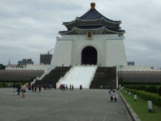 Chiang Kai Shek Memorial in Taipei