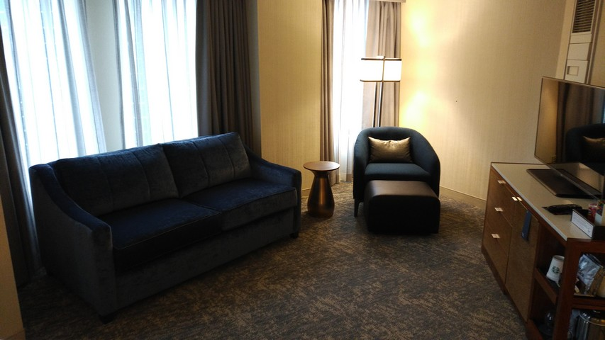 Renovierter Club Corner Room im Sheraton Grand Chicago