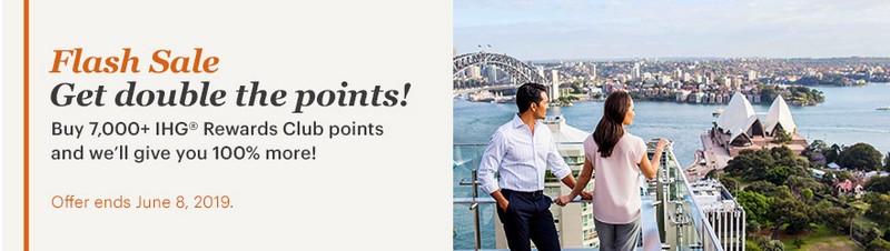 Beim Punktekauf gibt es bis 08.05.2019 doppelte IHG Rewards Club Punkte
