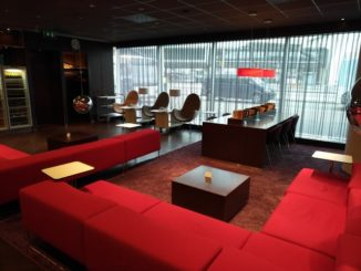 NS International Lounge am Flughafen Schiphol