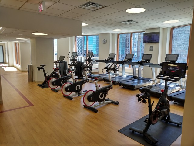 Fitnesscenter im Sheraton Grand Chicago